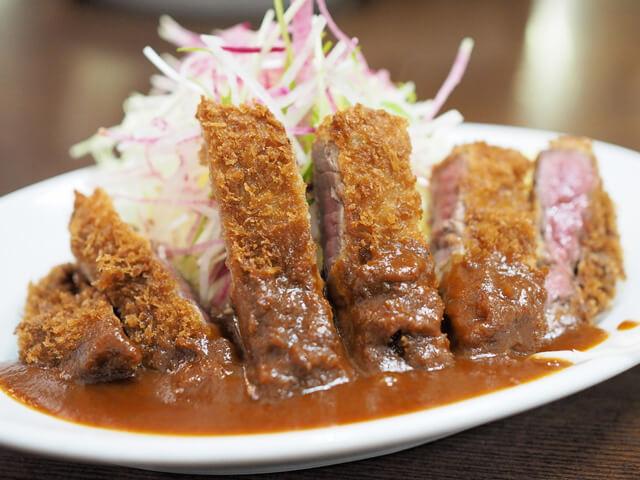神戸のビフカツ人気店洋食の朝日