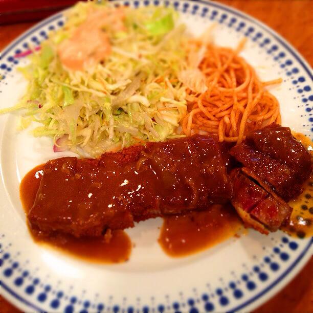 神戸のビフカツが美味しいゲンジ