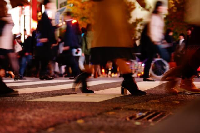 神戸ルミナリエの来場者数や混雑状況